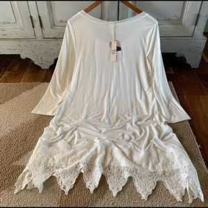 Dress Extender Layering Top, Size Large, NWT